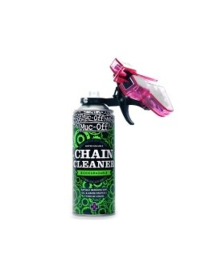 MUC-OFF  -  KIT pulizia catena -  400ML & DOC: