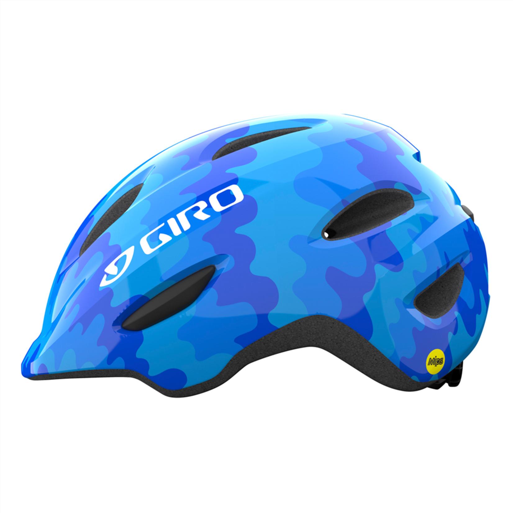 Giro Giro - Helme Scamp blu splash