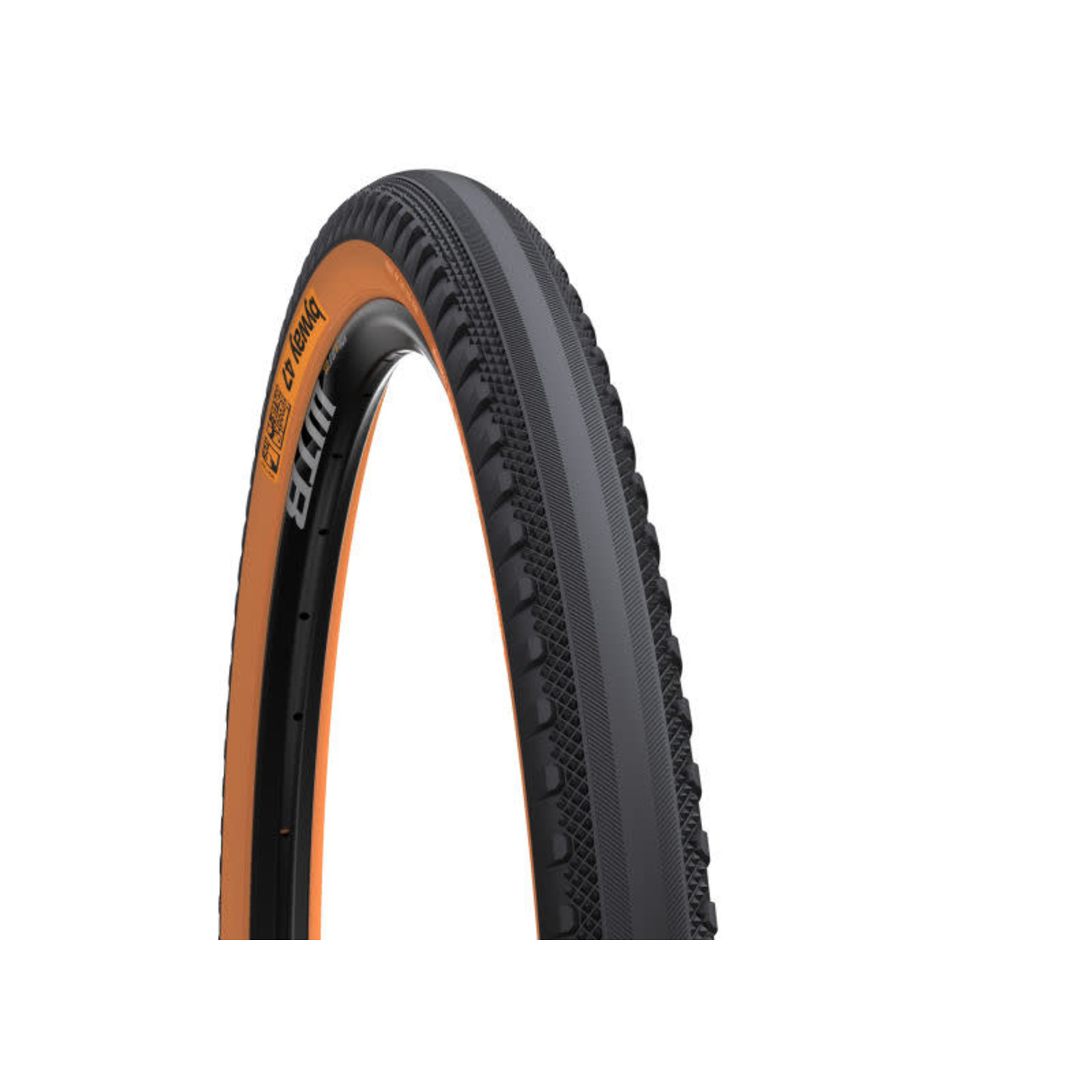 BY WAY ByWay -  650 x 47c Road TCS Tire nero/marrone