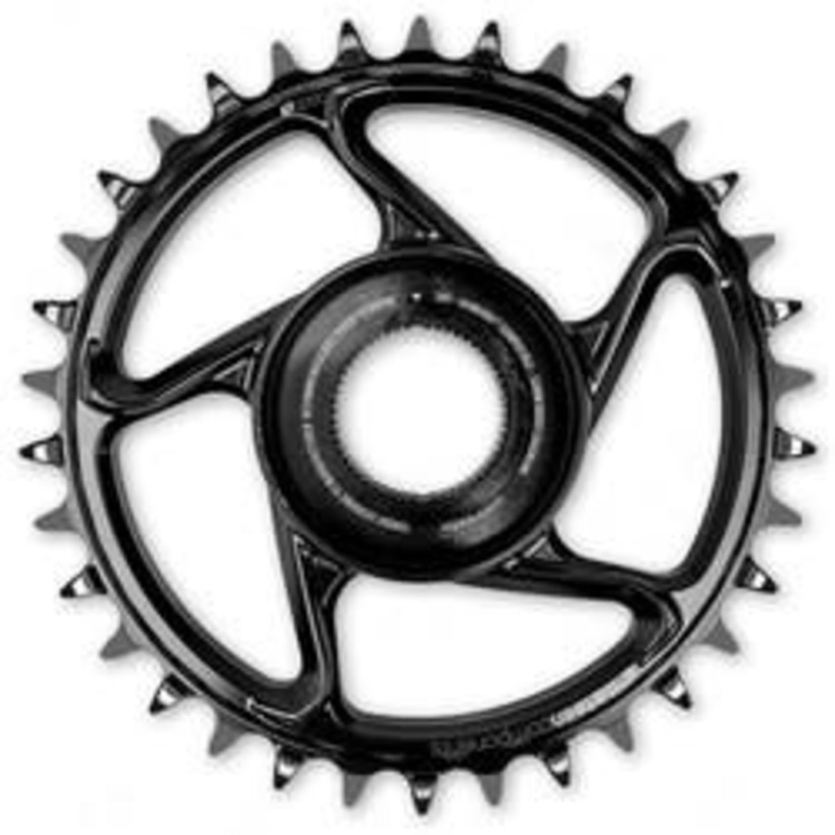 e*thirteen  E* thirteen - corona Vorne 34T Steel; Bosch CS Gen4; Black