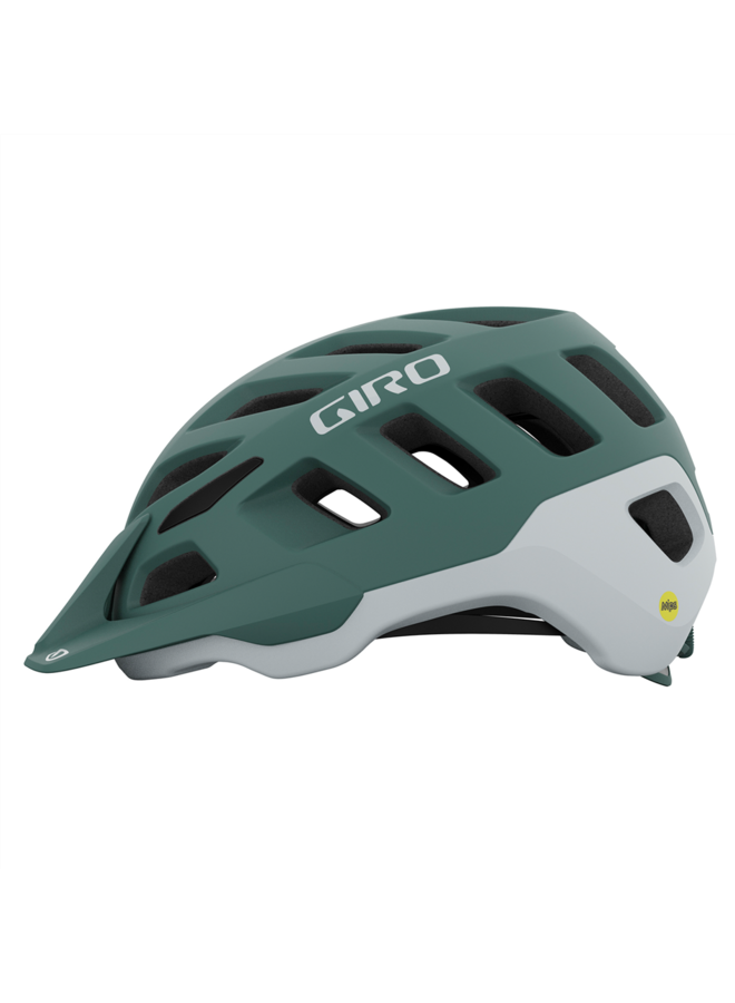 Giro casco Radix W - MIPS mat gray green