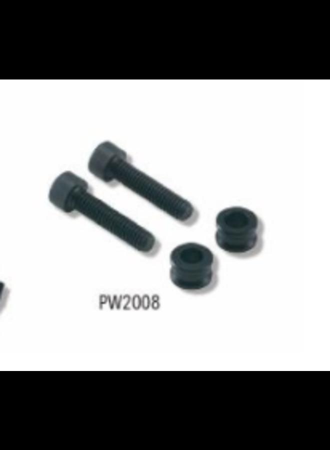 Braking - Adattatore disco spacer da 203 a 220 nero
