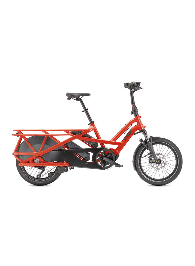 Tern - GSD S10 Cargo line - 1000 wh - shimano - rosso tabasco10x -