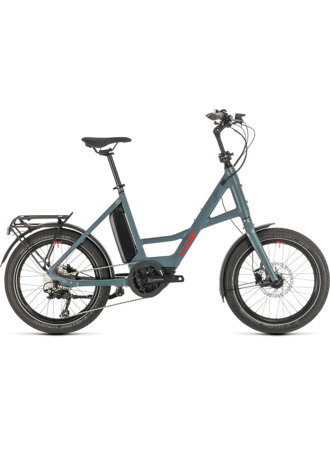 Cube Compact Hybrid Sport blue'n'red 2021