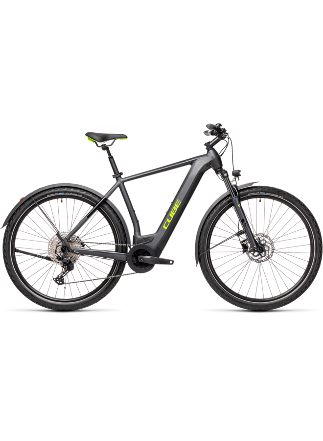 Cube Cross Hybrid Pro 500 Allroad iridium'n'green 2021