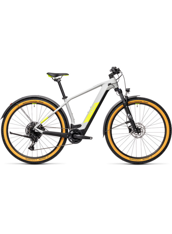 Cube Reaction Hybrid Pro 625 29 Allroad 2021 grey´n´yellow