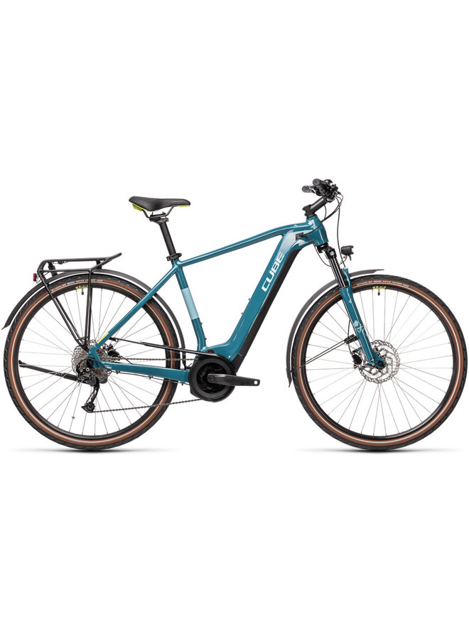 Cube Touring Hybrid ONE 625 2021 blue'n'green