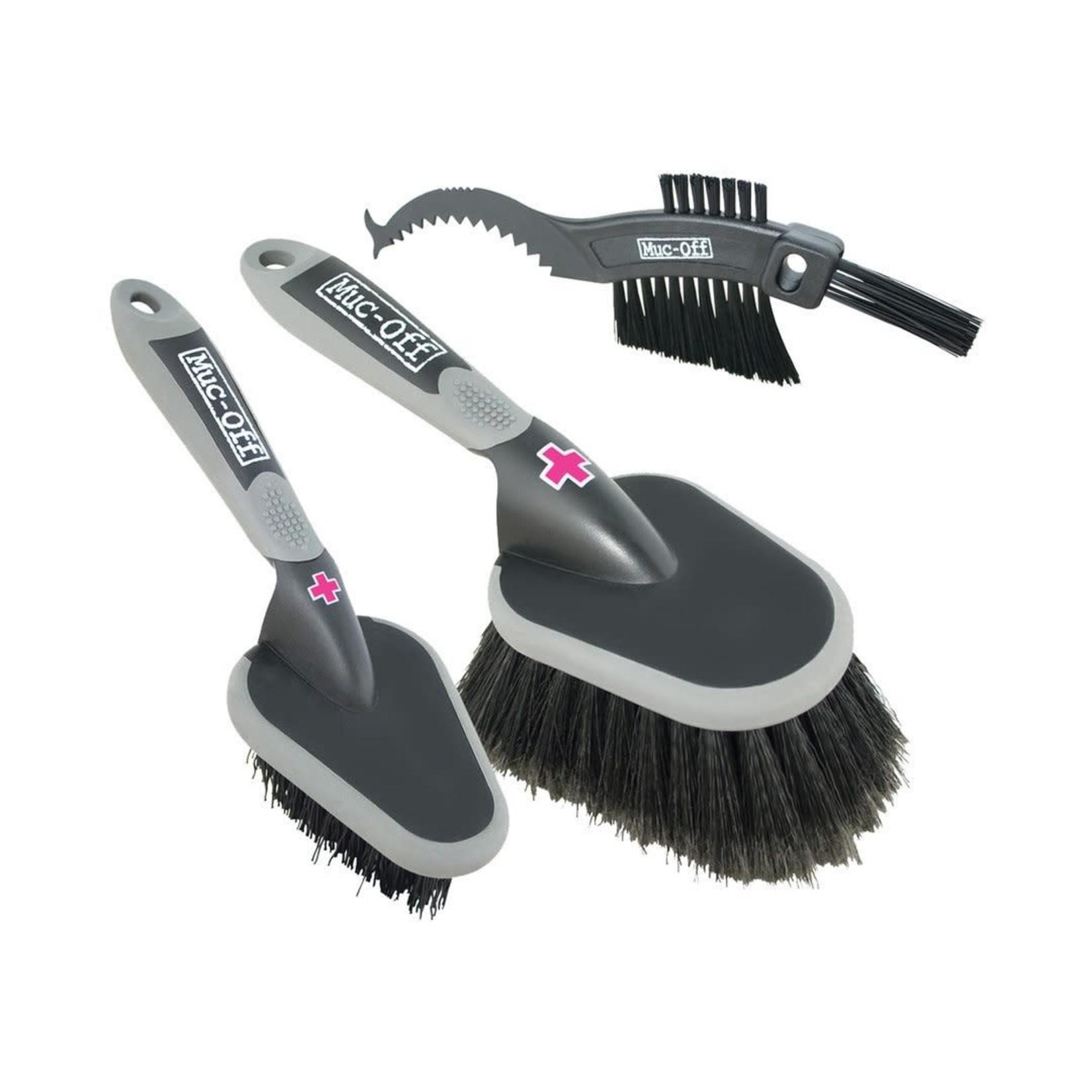 Muc-Off Muc Off - Set  3 spazzole per pulizia bici