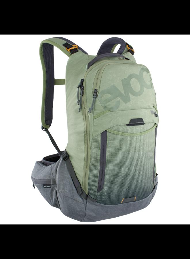 EVOC zaino Trail Pro 16L -  light olive/carbon grey S/M