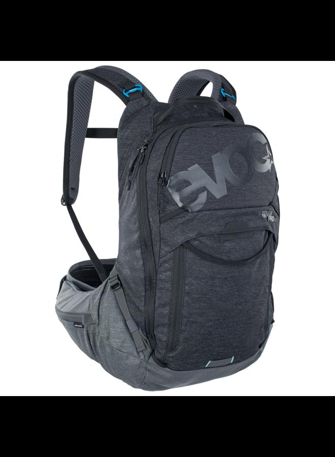 EVOC zaino Trail Pro 16L - black/carbon grey (L/XL)