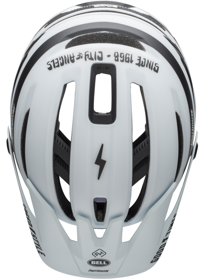 Bell - casco Sixer - white black fasthouse
