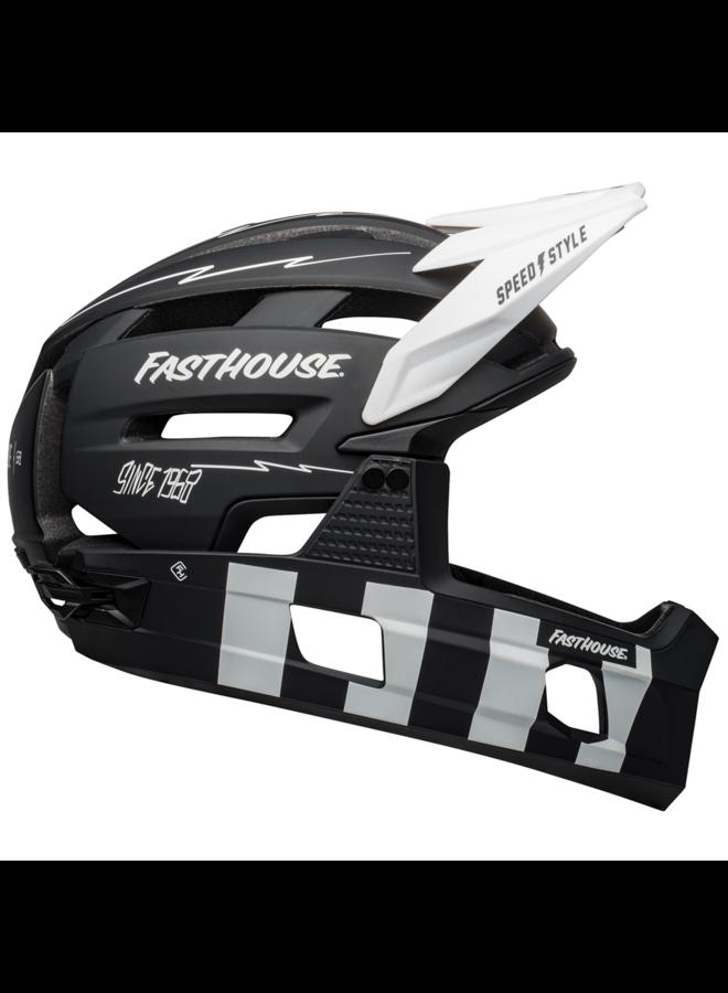 Bell - casco Super Air R MIPS Spherical Fasthouse black/white