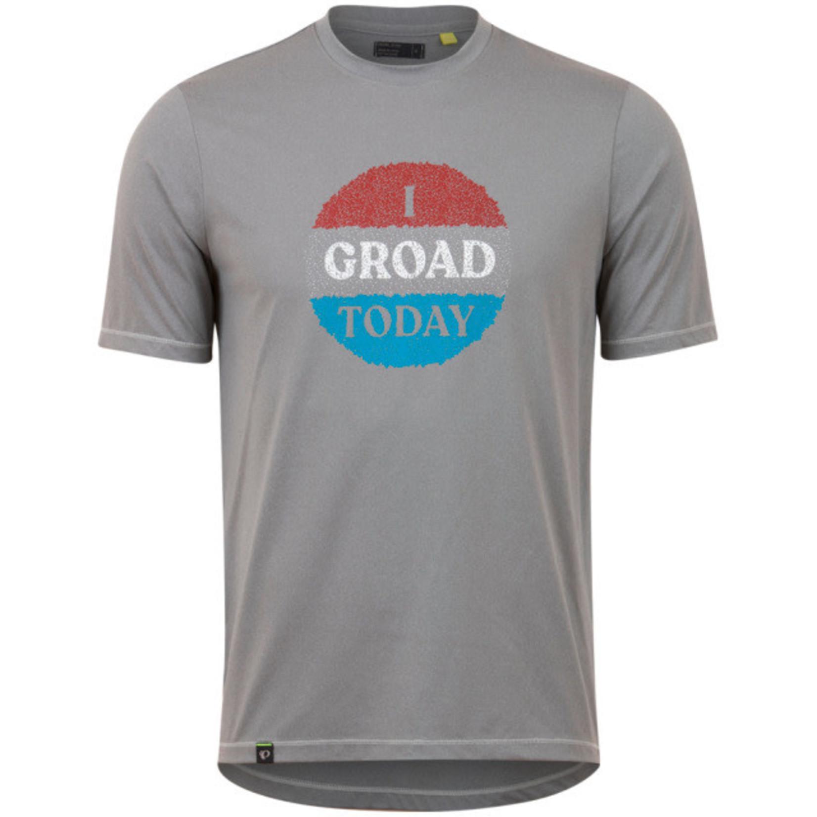 Pearl iZUMi Pearl iZUMi T-Shirt Midland TEE frost grey red groad