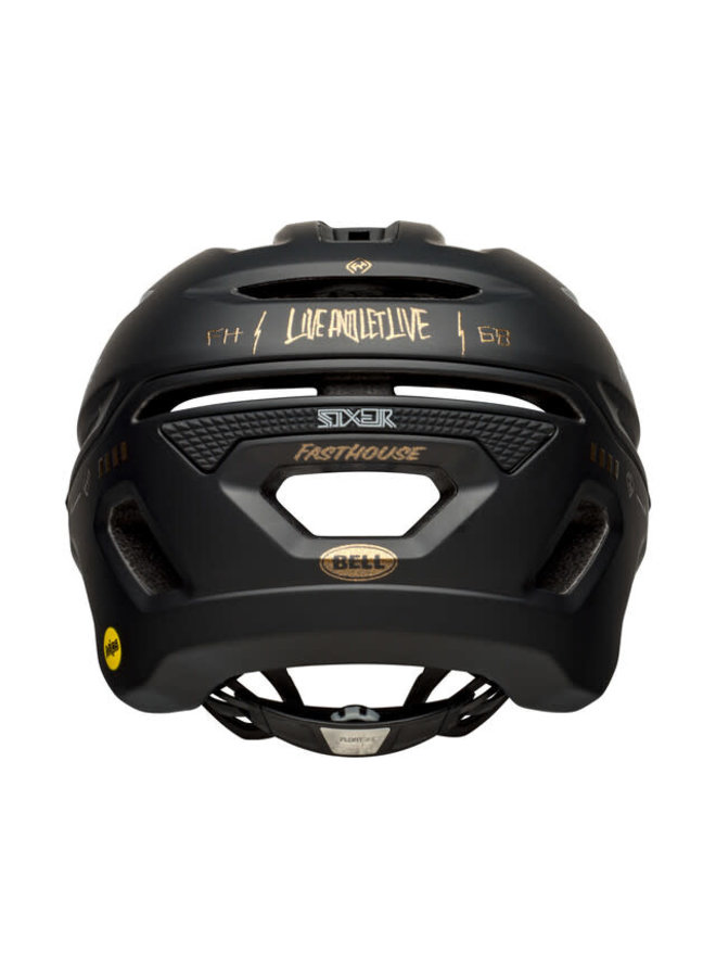 Bell - Casco Sixer MIPS matte/glos black/gold fasthouse