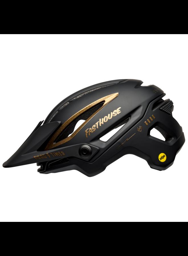 BELL SIXER casco black gold