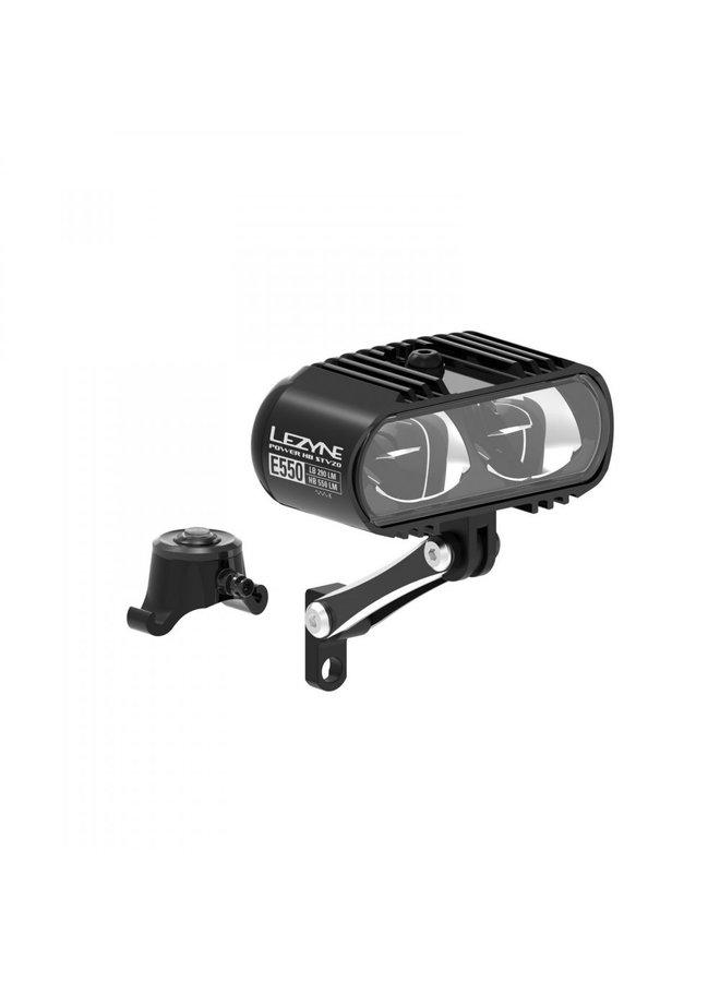 Luce anteriore E-Bike Power HB STVZO E550 nero