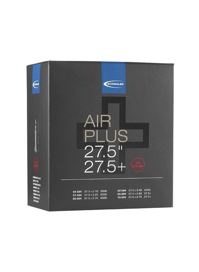 """Camera d'aria SV21+AP Air Plus 27.5+"""" Presta Valve"""