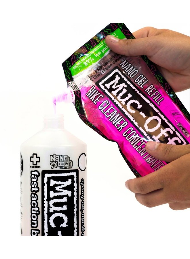Muc Off - Nano gel 500ml ricarica concentrata
