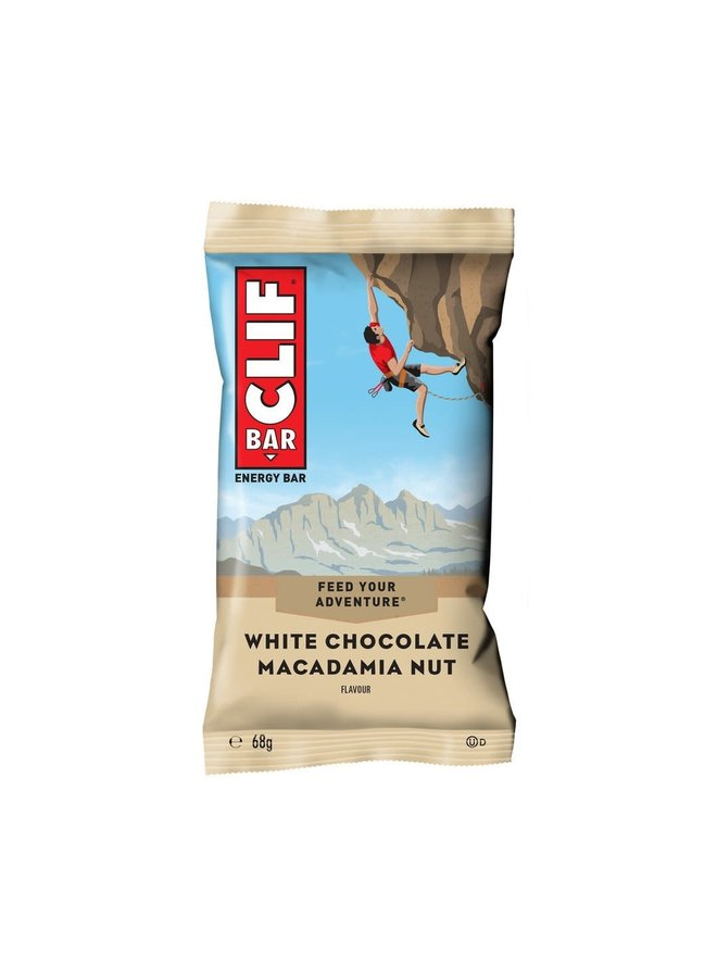 CLIF - White chocolate macadamia nut barretta energetica