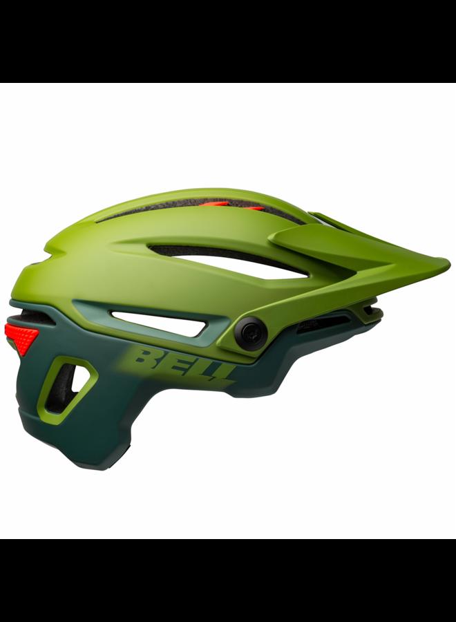 Bell casco Sixer matte/gloss green/infrared