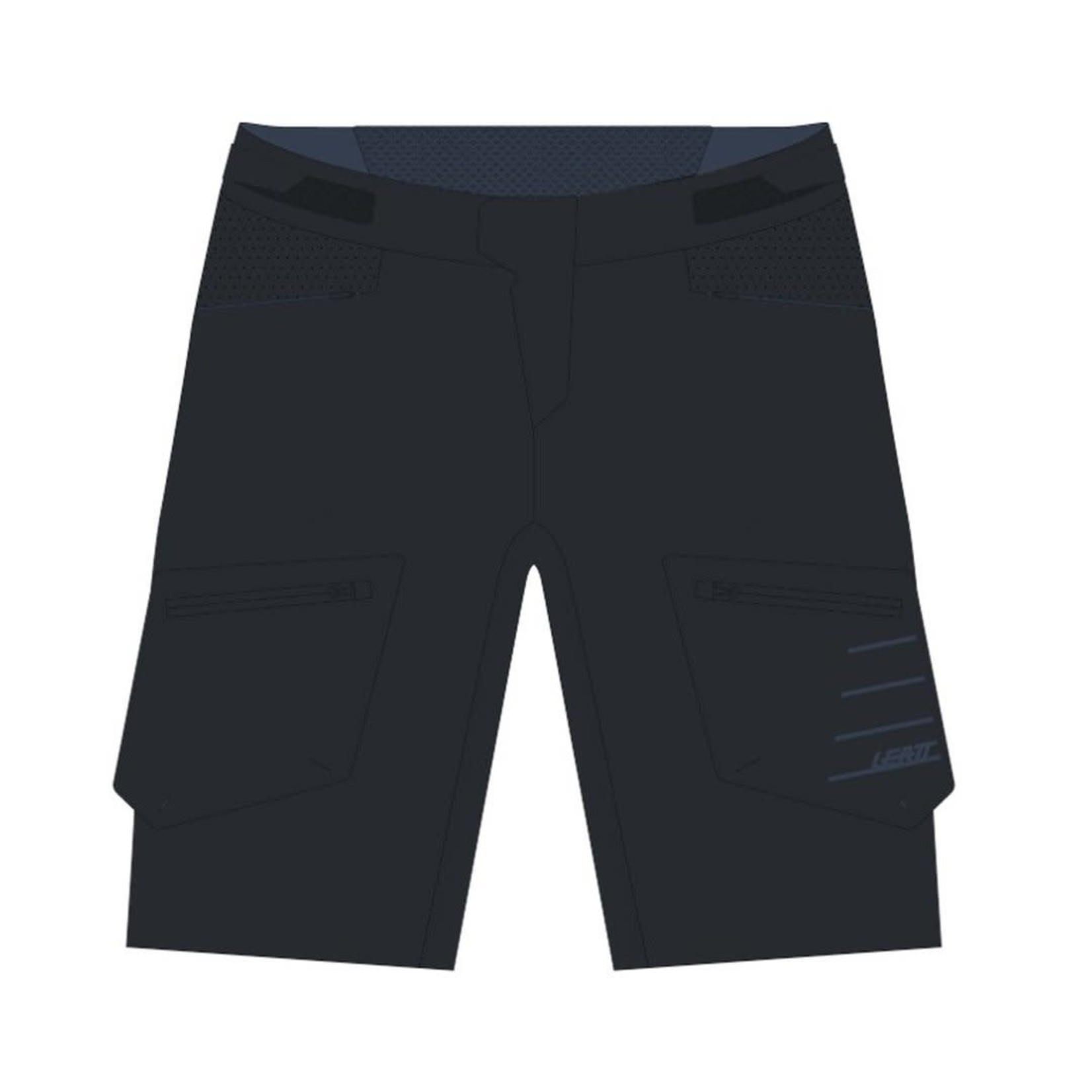 LEATT Leatt - Pantaloni corti All-MTN Nero
