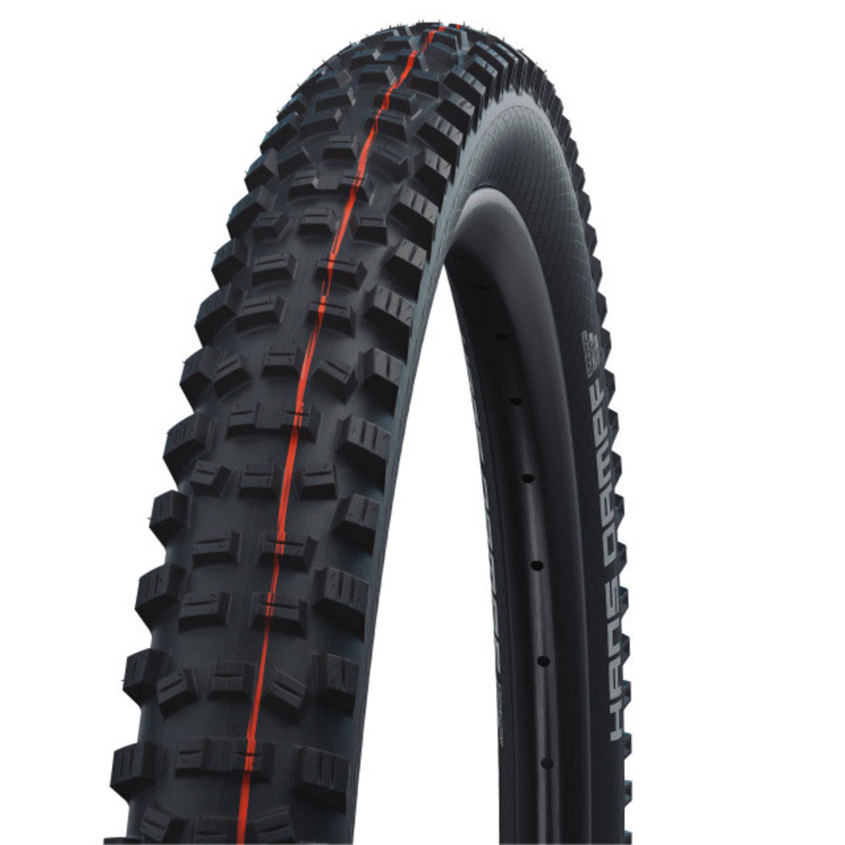SCHWALBE SCHWALBE - Reifen Hans Danpf 27.5x2.8 - Evo, Super Trail, ADDIX SpeedGrip