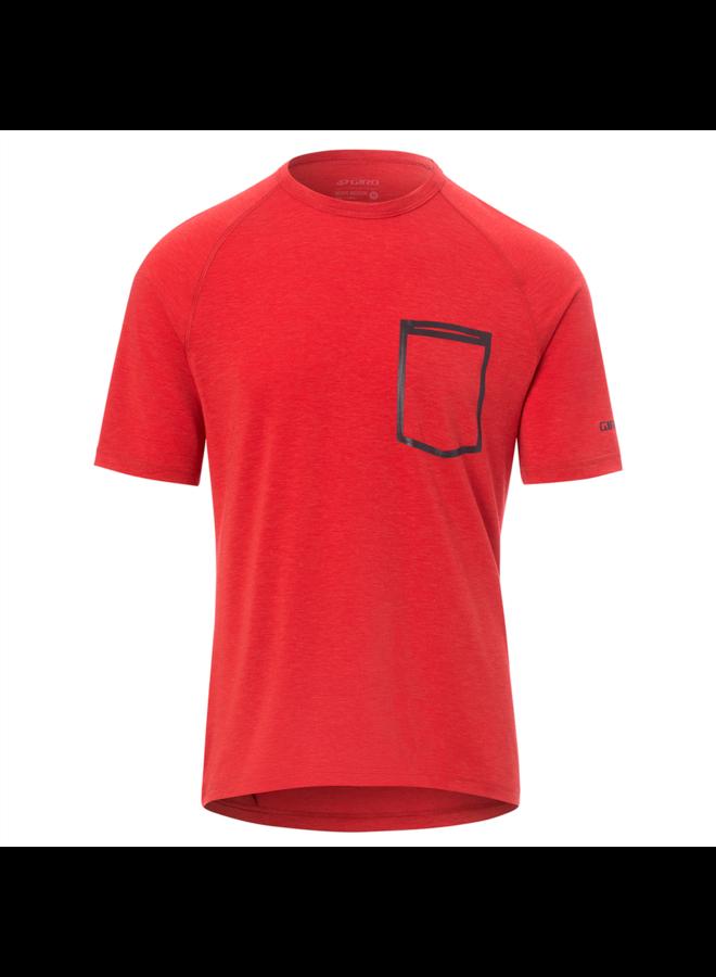 GIRO - maglietta Venture Roust Jersey - Ginja red