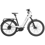 RIESE&MÜLLER Riese & Müller - Nevo3 GT vario - 625Wh - 47cm - Pure white - Nyon - portapacchi anteriore