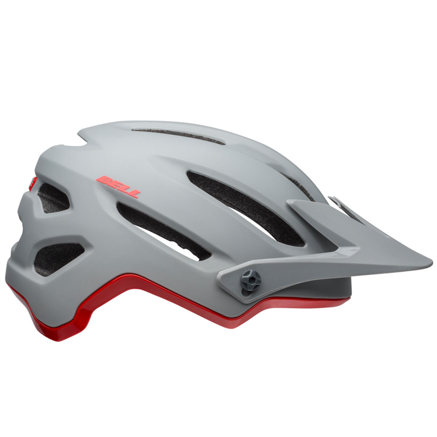 Bell Bell - Helme 4Forty MIPS matte/gloss gray/crimson