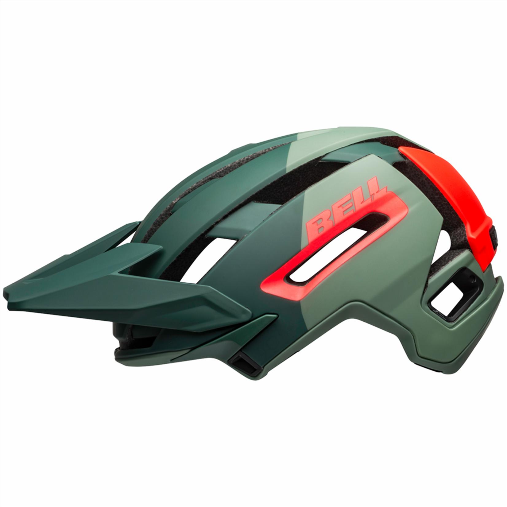 Bell Bell - Helme Super Air R MIPS Spherical green/infrared