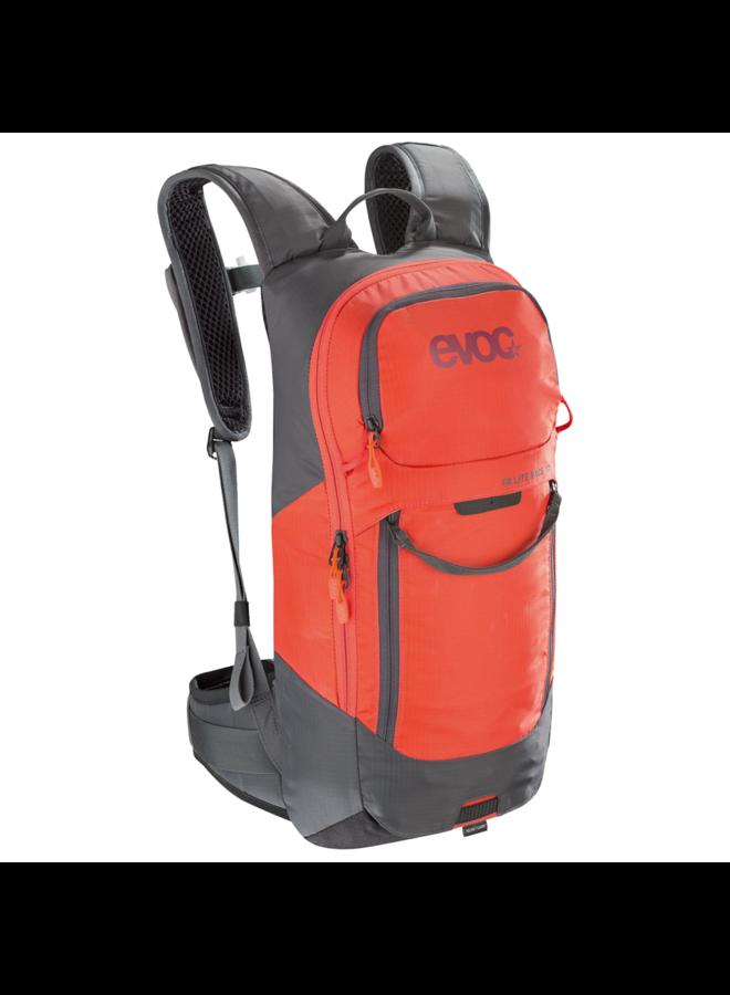 Evoc Protezione posteriore schiena grigio/arancio