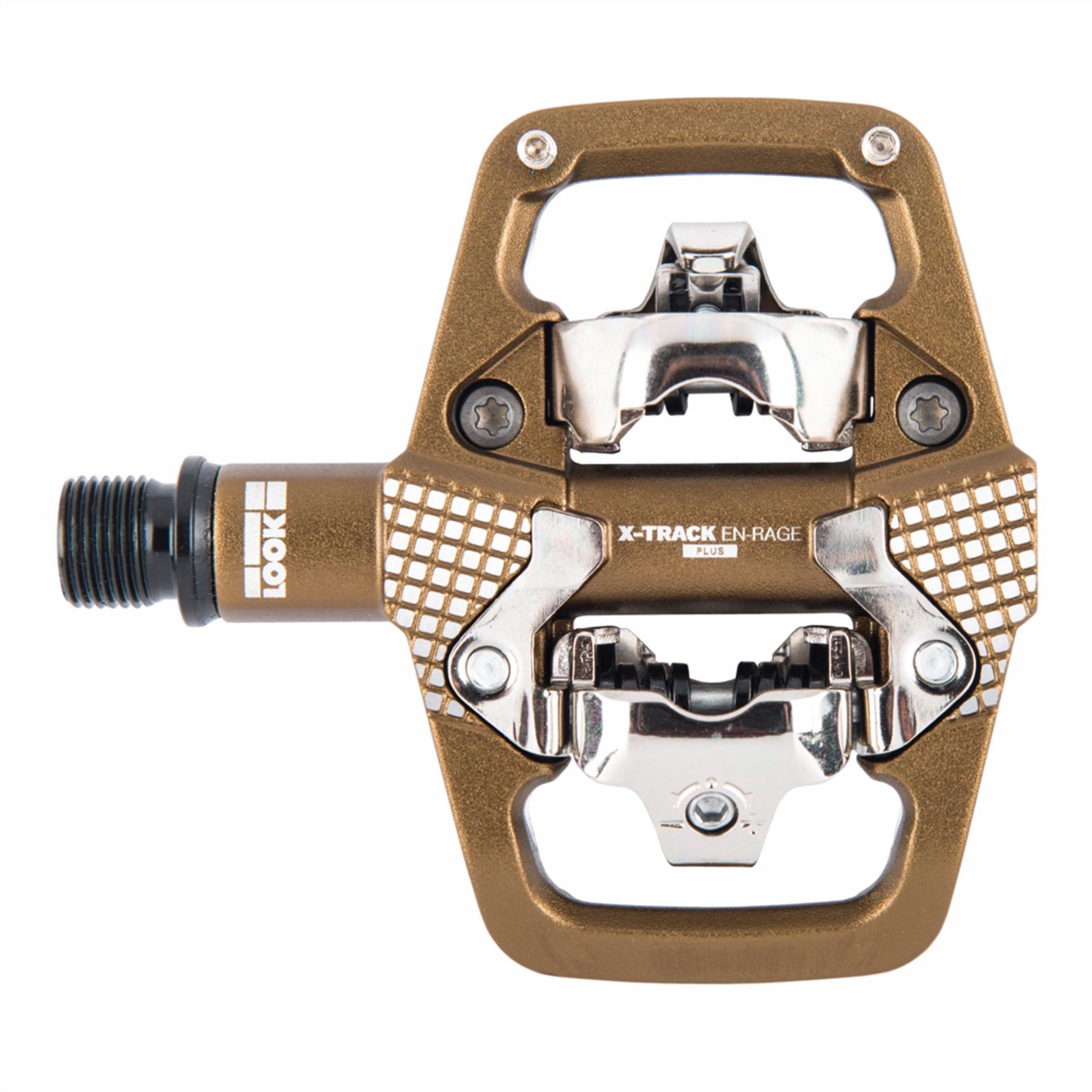 look LOOK - pedali X-track En-Rage Plus - bronzo