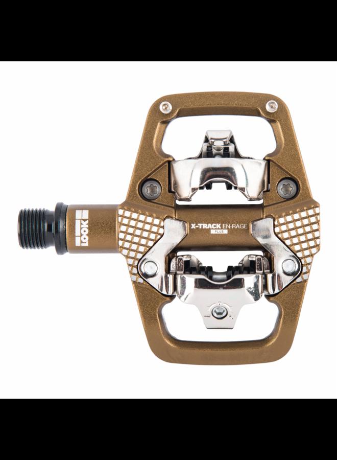 LOOK - pedali X-track En-Rage Plus - bronzo