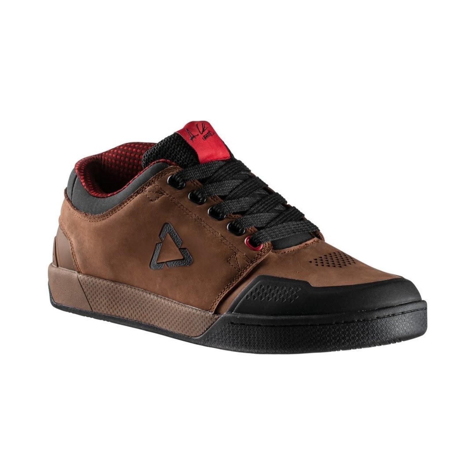 LEATT LEATT - scarpe DBX 3.0 FLAT Aaron Chase marroni 43.5