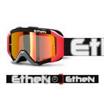 Ethen Ethen - maschera Ares nero bianco arancio