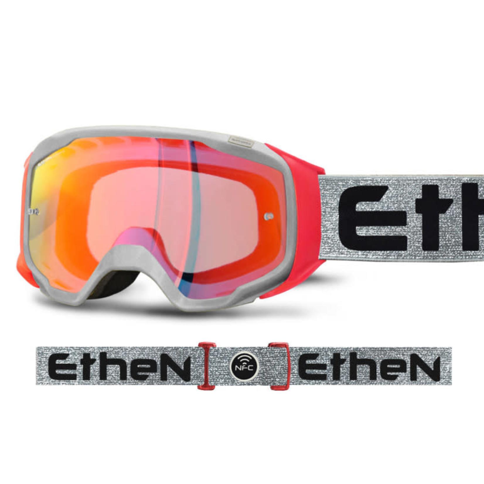 Ethen Ethen - maschera GP06 nero giallo fluor