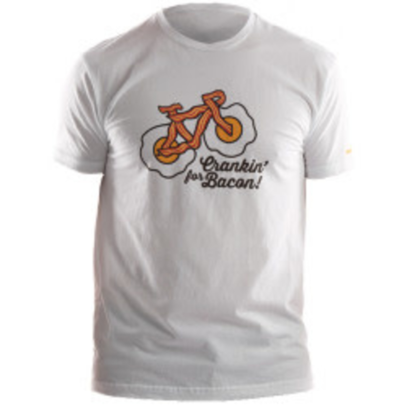 Pearl iZUMi Pearl Izumi - T-Shirt White Crankin Bacon