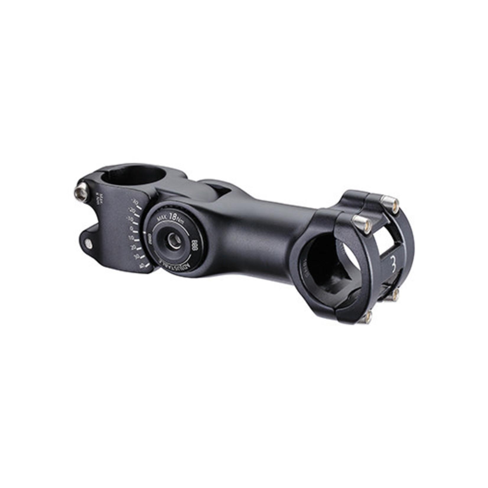 BBB BBB Vorbau regolabile  110mm 31.8mm (+40º/-40º) nera
