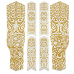 Rie Sel Design RIESEL - Chain tape 3000 / los muertos gold