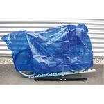 incirca INCIRCA - Copribici Regen - PVC 100x200 BLU