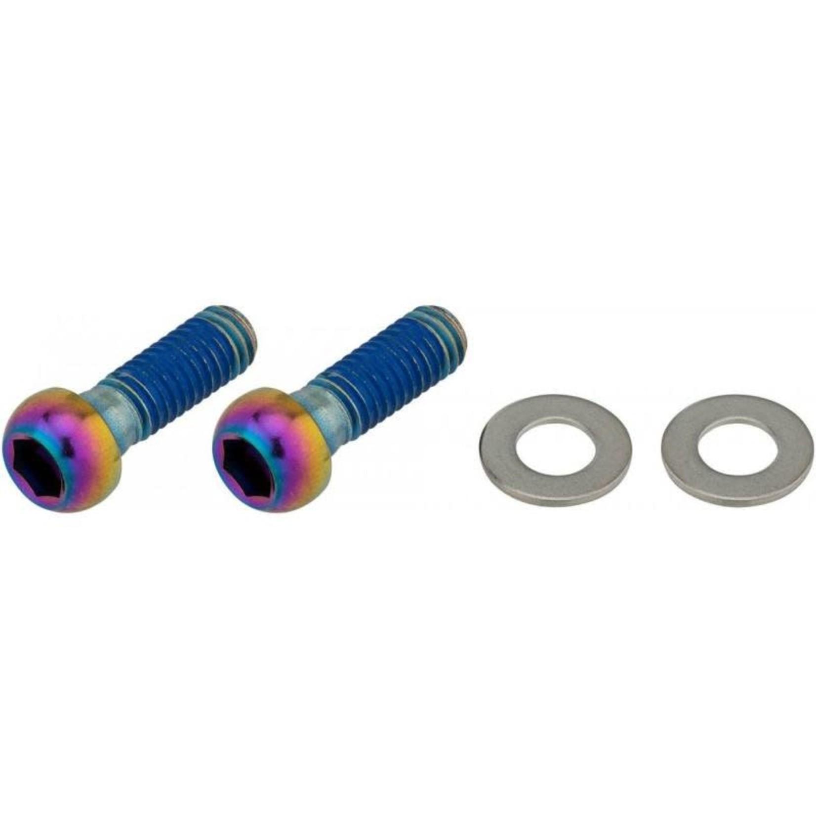 SRAM SRAM - Viti fissaggio pinza freno 18mm, Rainbow Oil Slick