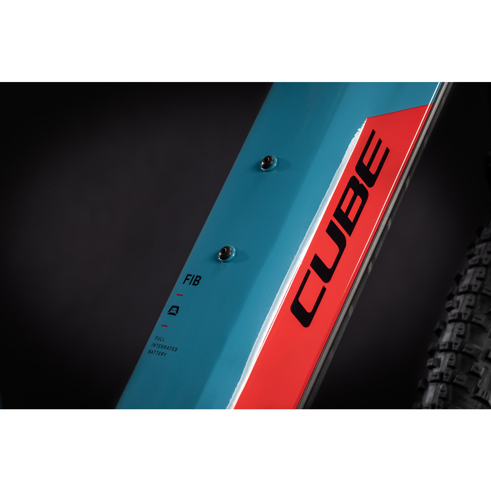 CUBE Cube Reaction Hybrid Performance 400 blue'n'red 2021