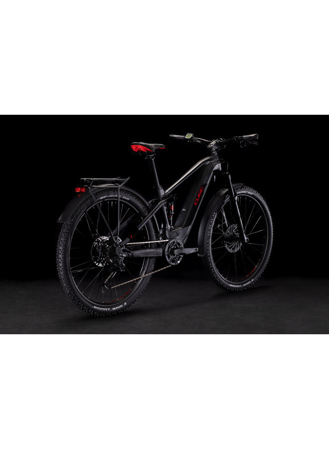 Cube Stereo Hybrid 120 Pro Allroad 500 black'n'red 2021