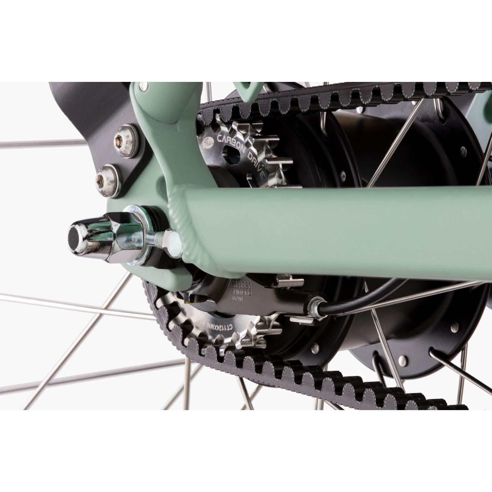RIESE&MÜLLER RIESE & MÜLLER - Swing3 vario urban - Salvia Matt - 46cm - Korbe delantero e cestini Gepäckträger - 500Wh - enviolo