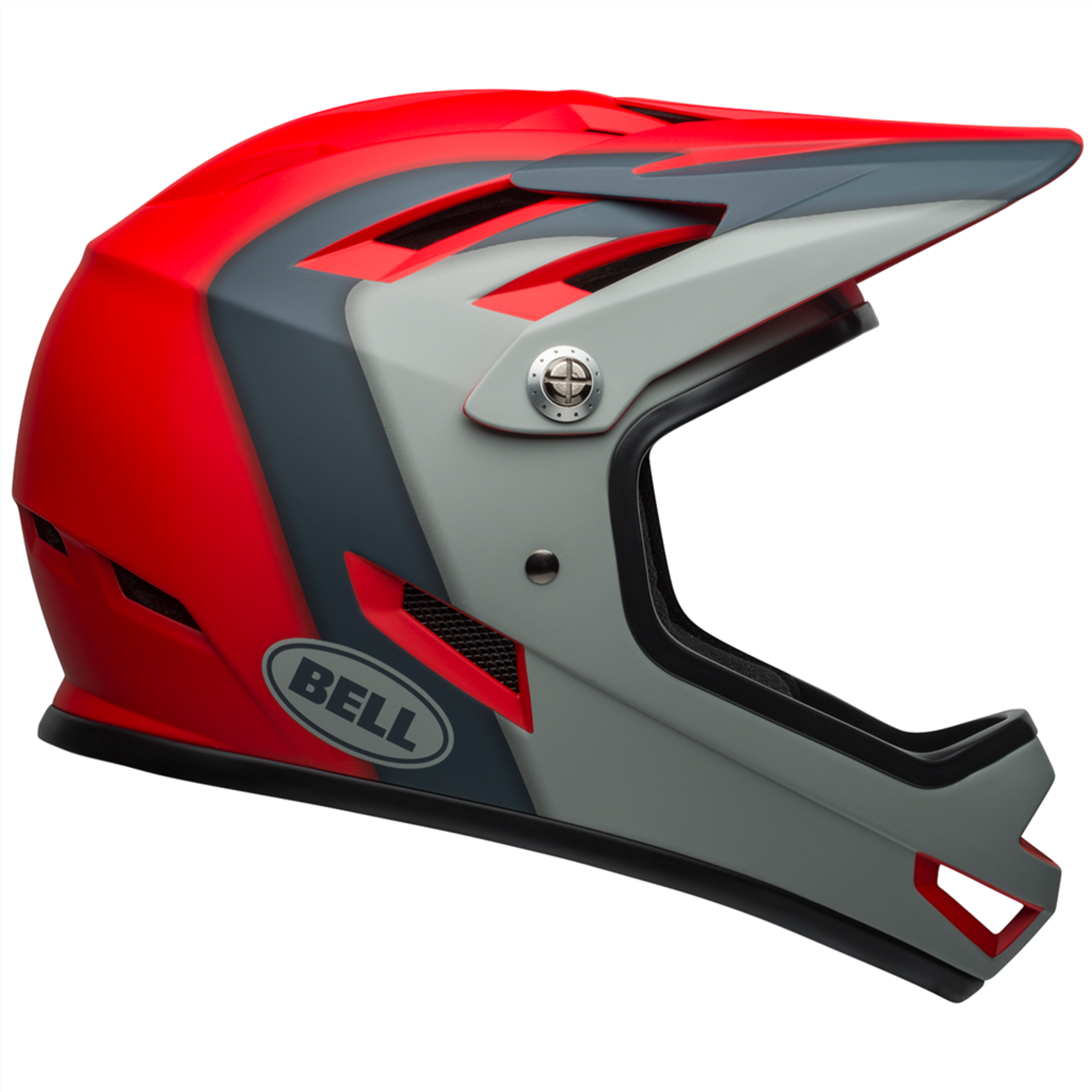 Bell Bell - Helme Sanction matte crimson/slate/gray