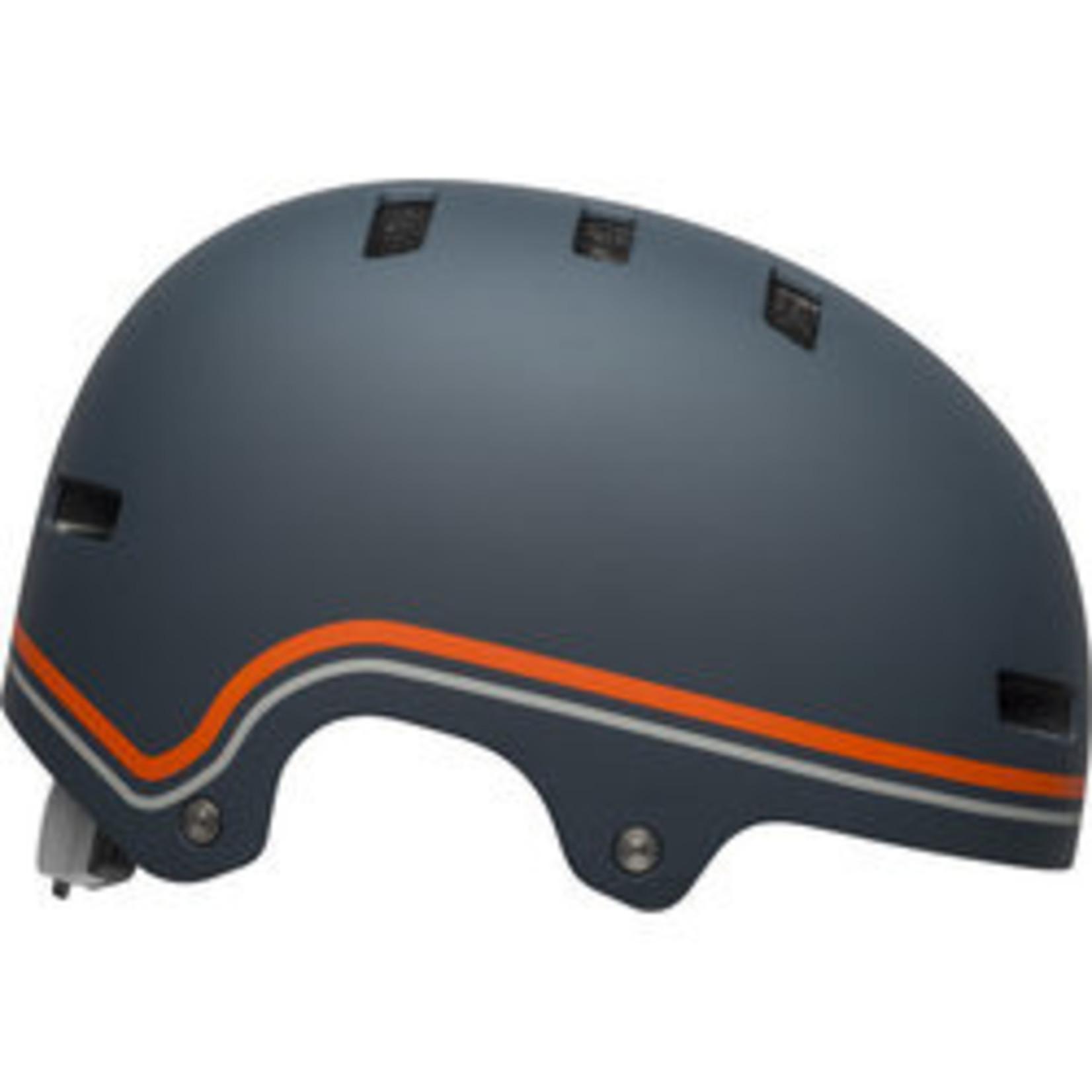 Bell Bell - Helme Local  Matte Slate/Orange M