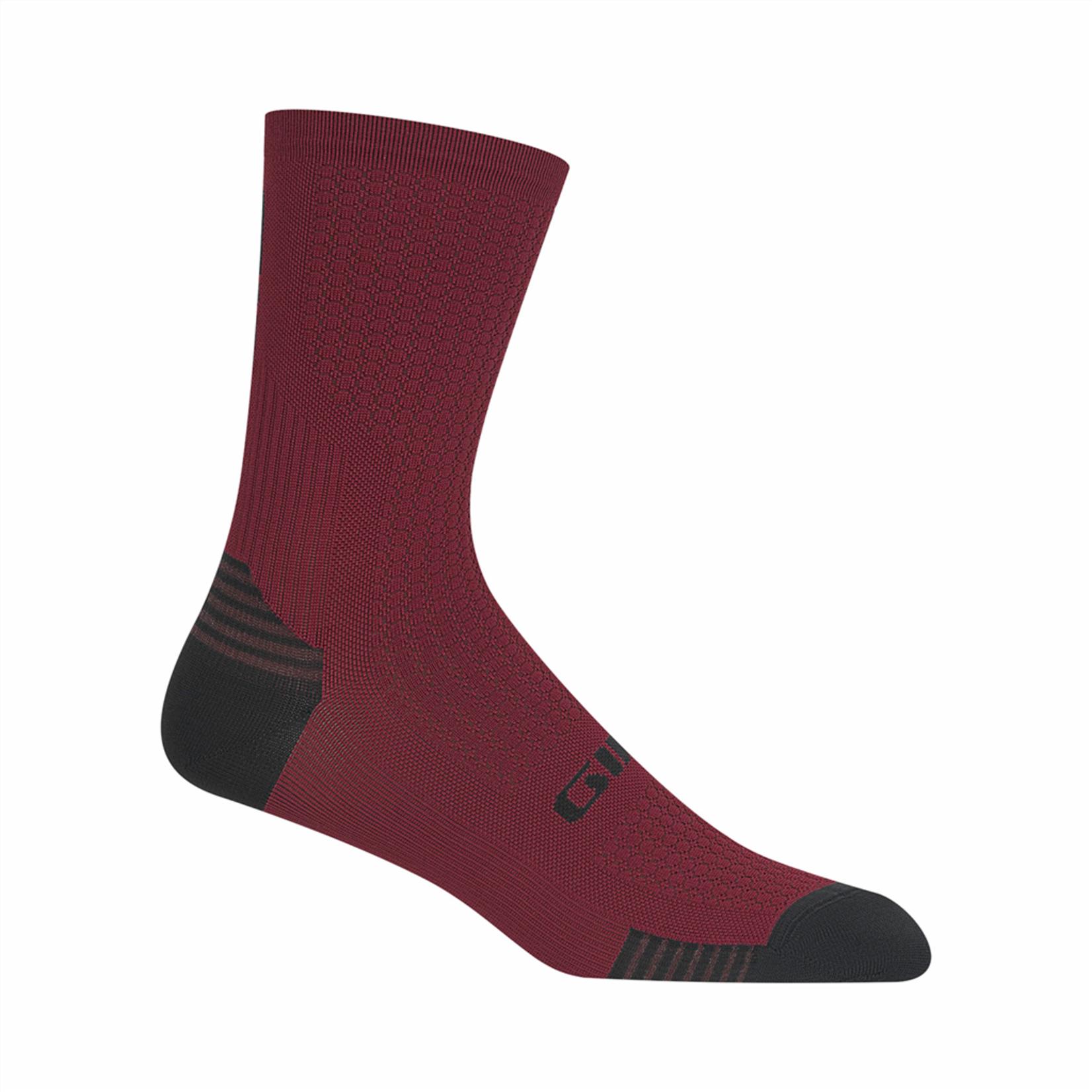 Giro Giro - Socke HRc + Grip oxblood M