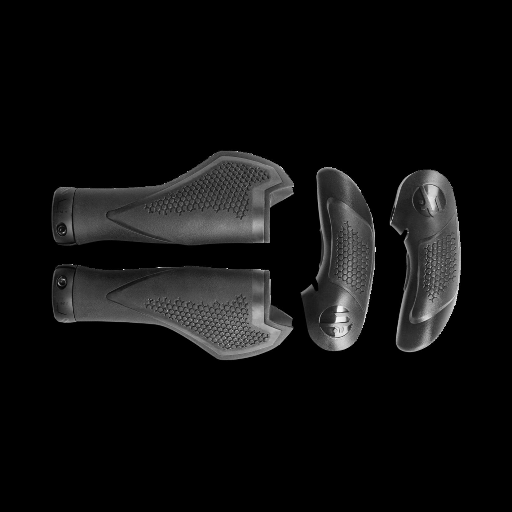 CUBE CUBE - manopole Natural Fit - Comfort con prolungamenti- S