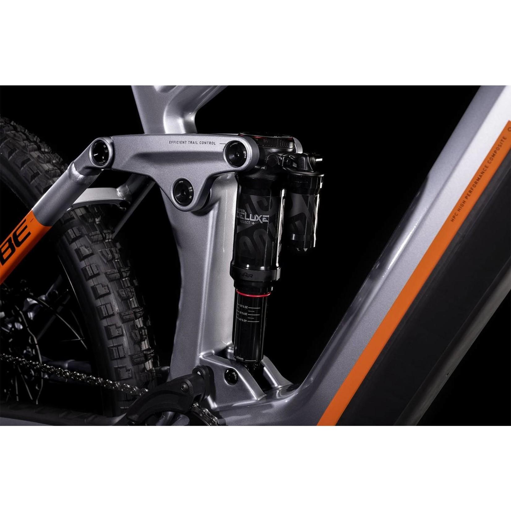 Cube Stereo Hybrid 160 HPC SL 27.5 polarsilver´n´orange