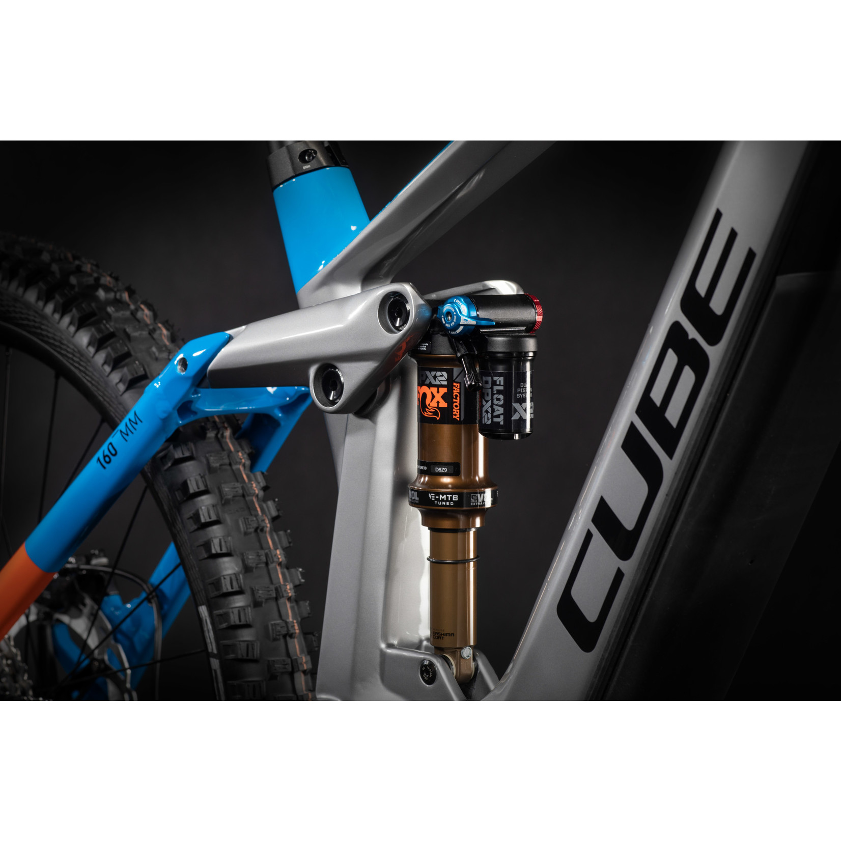 CUBE Cube Stereo Hybrid 160 HPC Actionteam 625 27.5 Kiox actionteam 2021